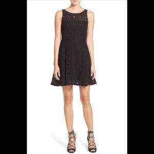 BB Dakota Renley Fit &Flare Dress Nordstrom 0 bk